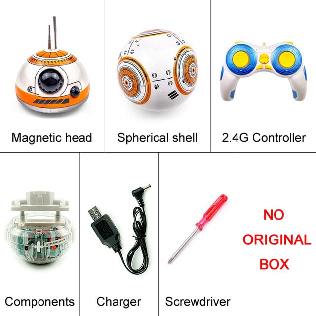 Star Wars RC BB-8 Droid Robot Remote Control Toys