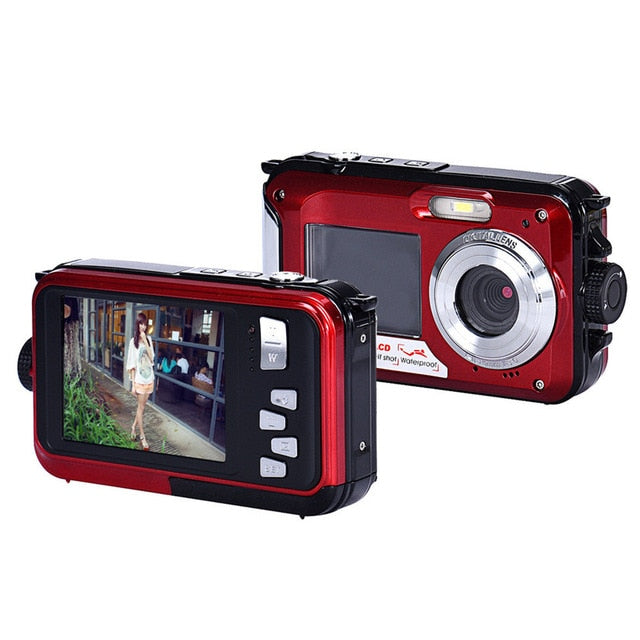 Double Screen Waterproof  Zoom Dive