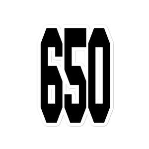 Big 650 Sticker