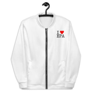 Billboard I Love EPA Bomber (White)
