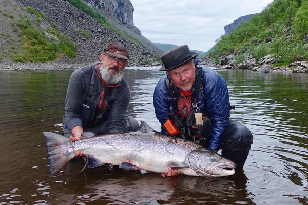 Two days at classic Steinfossen, Alta – the BIG fish!