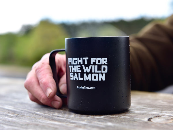 Black 'Wild Salmon' Camp Cup