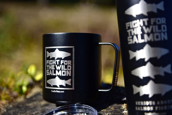 "Black ""Silver Salmon"" Camp Cup"
