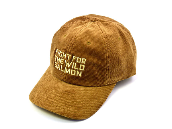 Rusty Brown 'Wild Salmon' Corduroy Hat