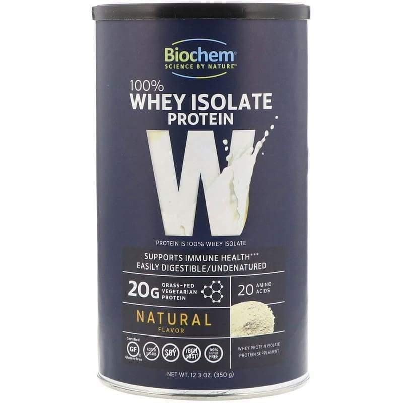 100% Whey Natural 12 oz Regular - Country Life - Earthly Nutrition