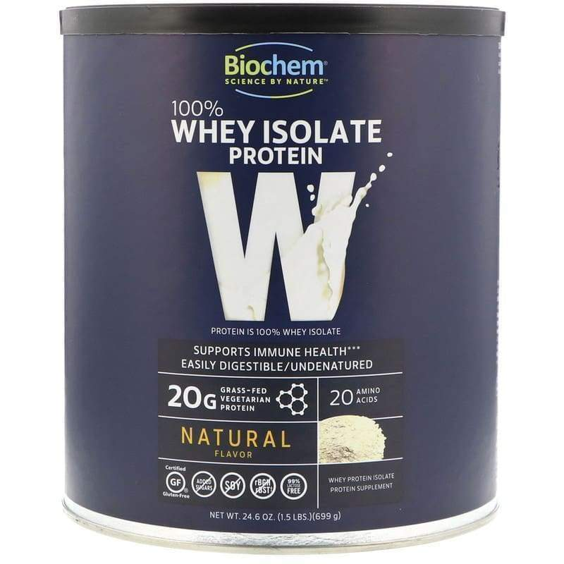 100% Whey Natural Regular 1.5 lb - Earthly Nutrition