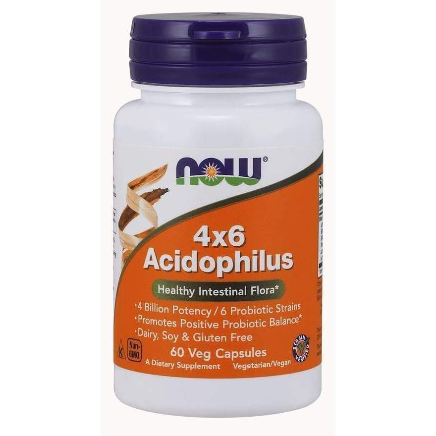 4X6 ACIDOPHILUS 60 VCAPS - Earthly Nutrition