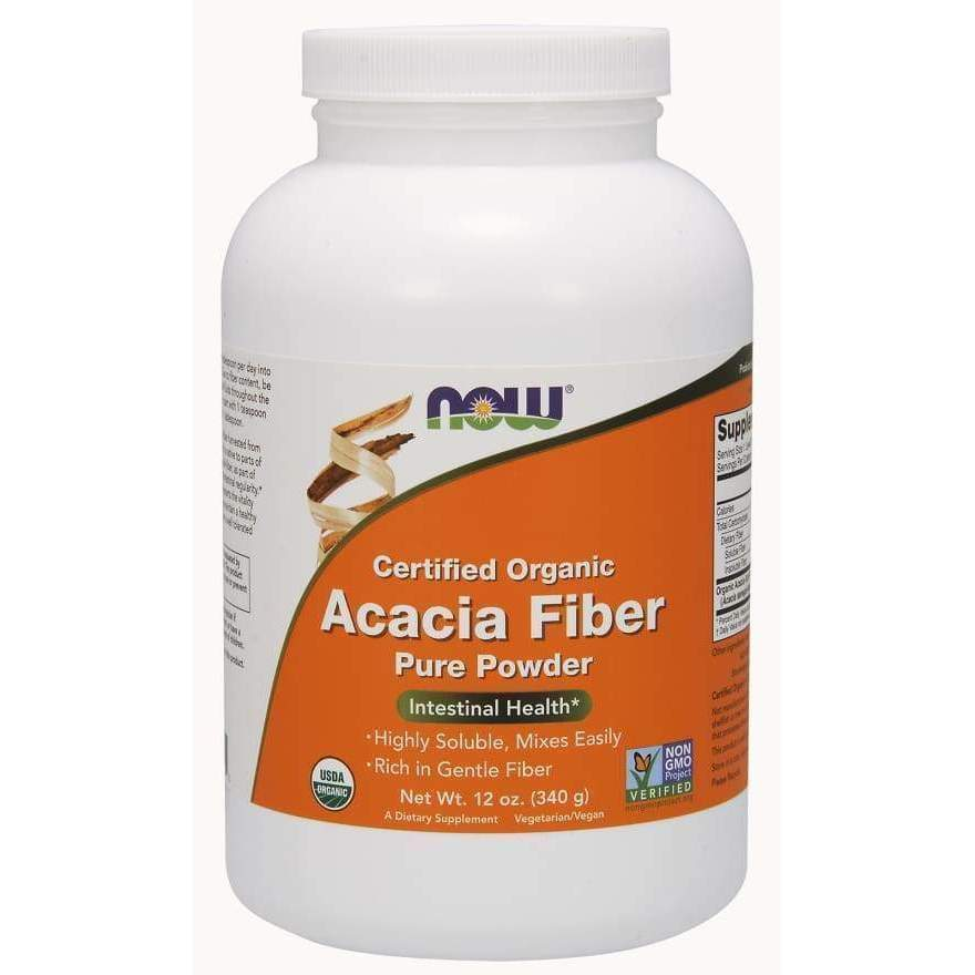 ACACIA FIBER POWDER ORG 12 OZ - Earthly Nutrition