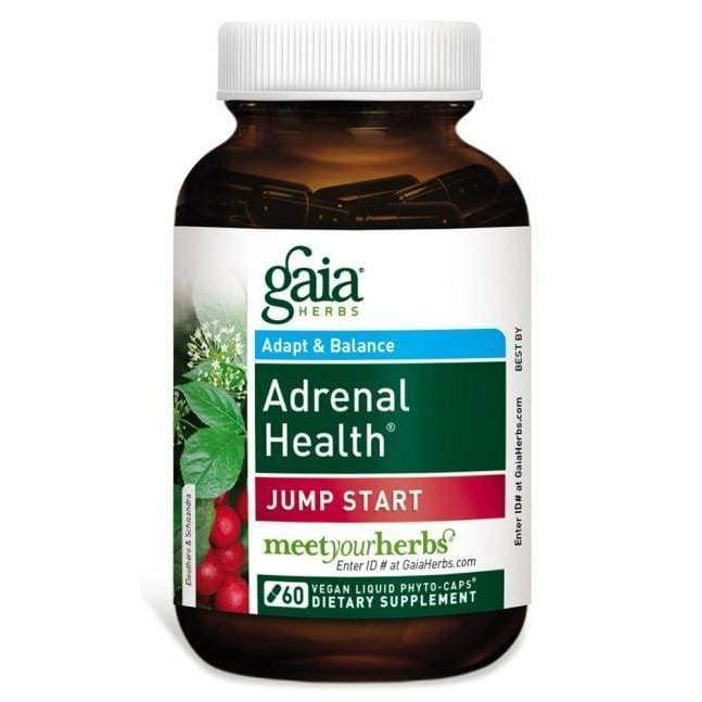 Adrenal Health Jump Start 60ct - Gaia Herbs - Earthly Nutrition