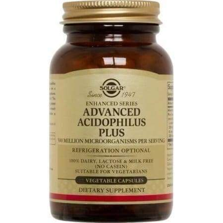 Advanced Acidophilus Plus 120 vegetable capsules - Earthly Nutrition