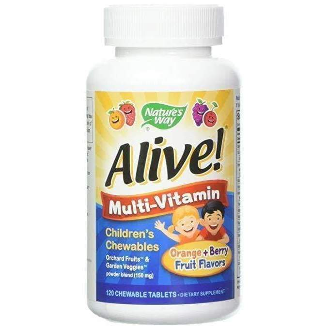 Alive! Childrens Chewable 120 ct - Schwabe - Earthly Nutrition