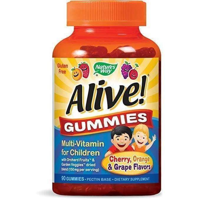 Alive! Childrens Gummies 90 ct - Schwabe - Earthly Nutrition
