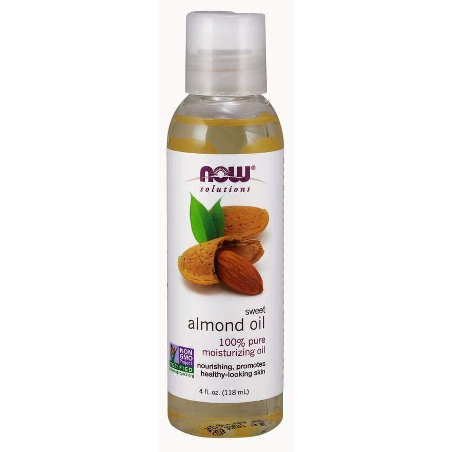 ALMOND OIL 16 OZ - Earthly Nutrition