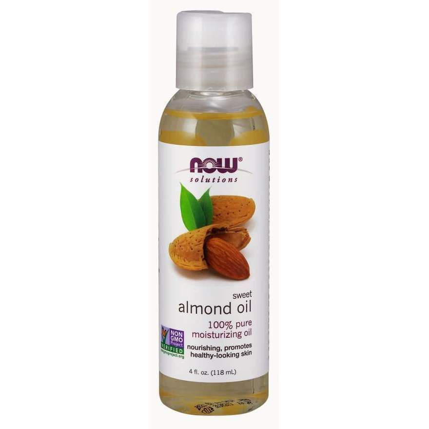 ALMOND OIL 4 OZ - Earthly Nutrition