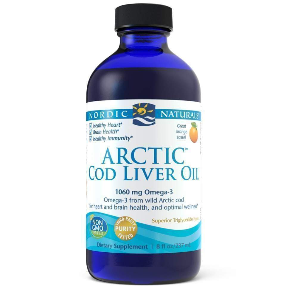 Arctic Cod Liver Oil Orange 8 fl oz – Nordic Naturals