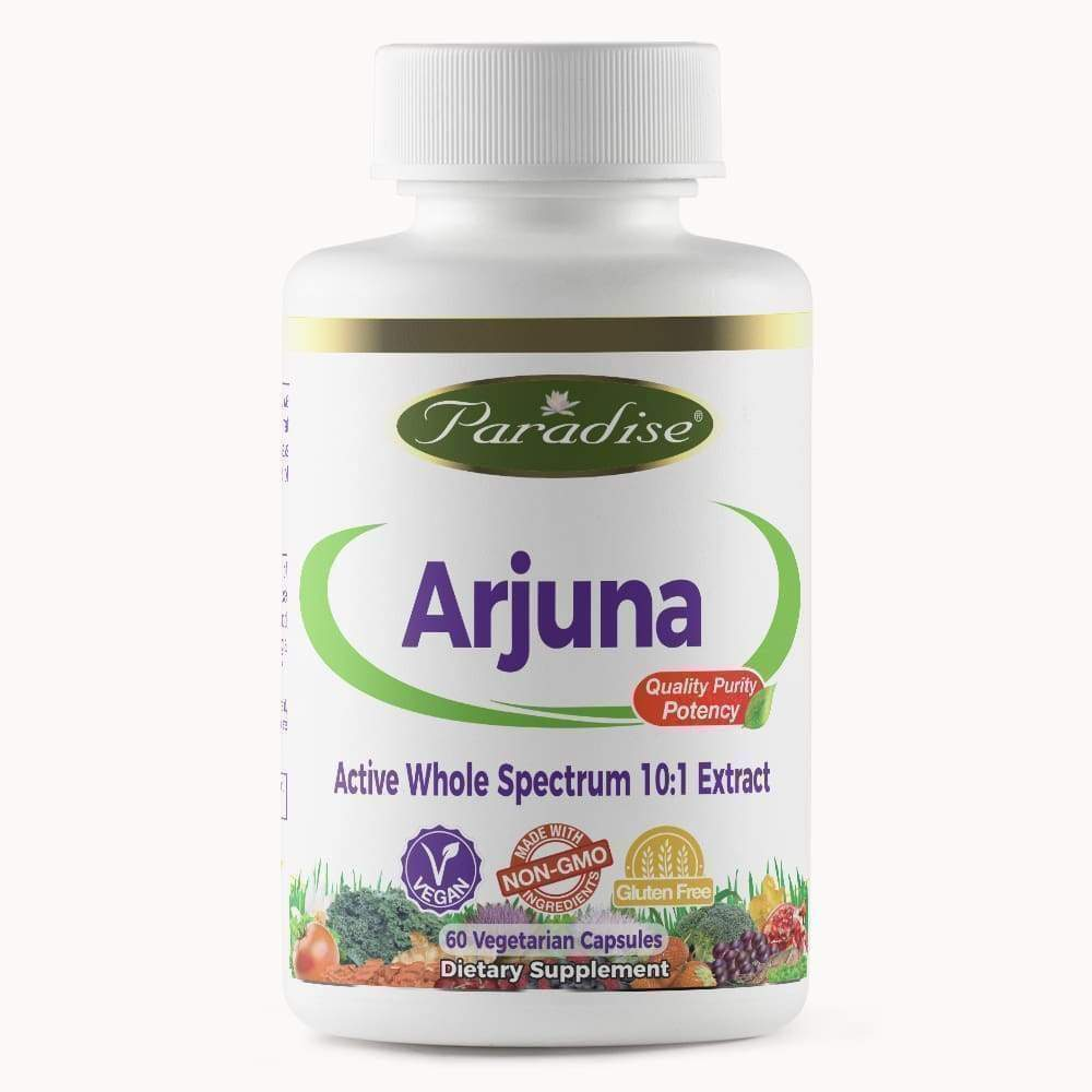 Arjuna 60vcap - Paradise - Earthly Nutrition
