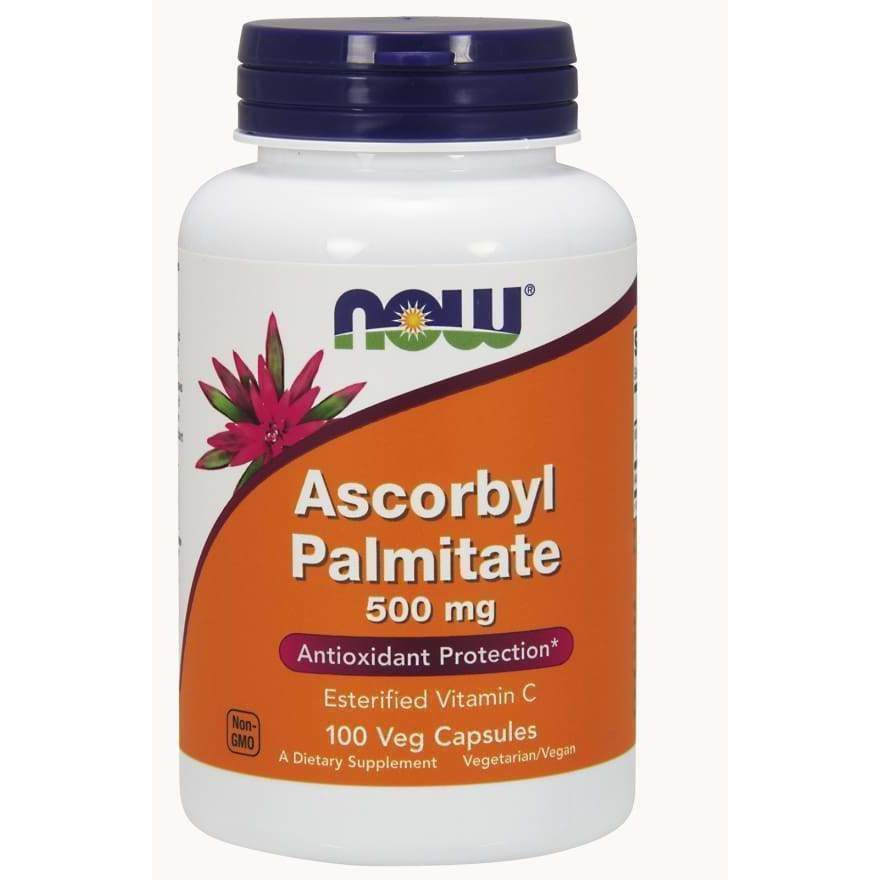Ascorbyl Palm 500 mg 100 VegCaps - Now Foods - Earthly Nutrition