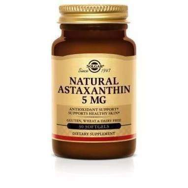 Astaxanthin 5 mg1 - NPG/Solgar - Earthly Nutrition