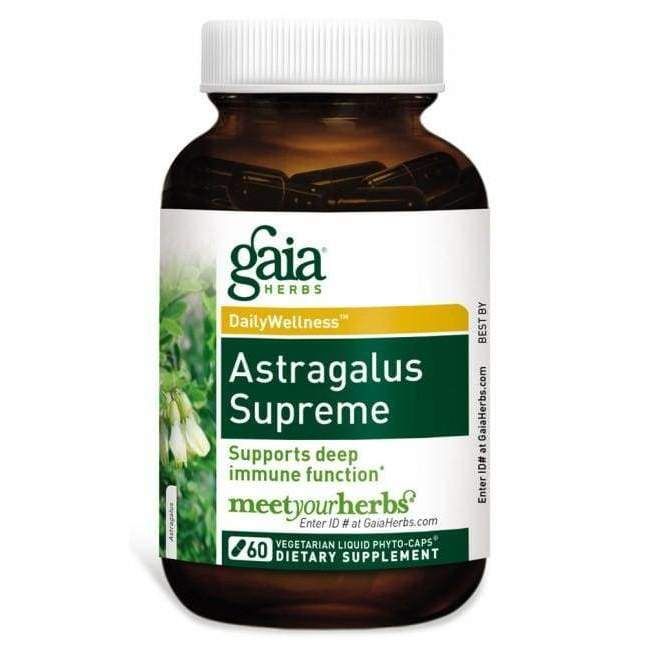 Astragalus 1 oz - Gaia Herbs - Earthly Nutrition