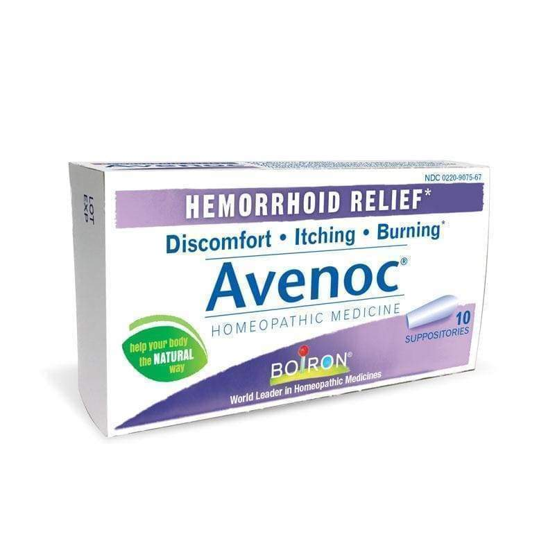 Avenoc Suppositories 10 ct - Boiron - Earthly Nutrition