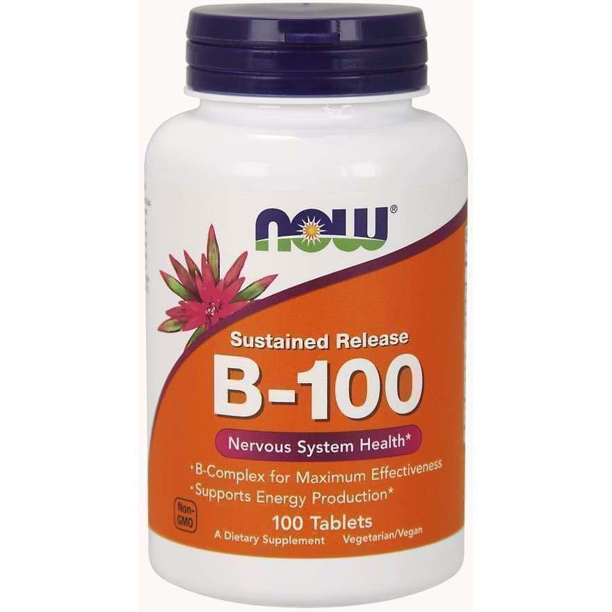 B-100 CAPS 100 VCAPS - Earthly Nutrition