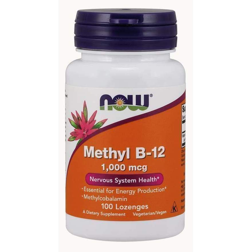 B-12 1000mcg 100 LOZ - Earthly Nutrition