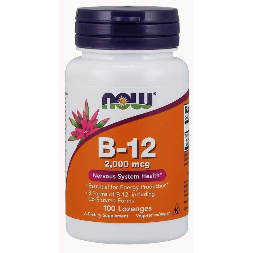 B-12 2000MCG 100 LOZ - Earthly Nutrition