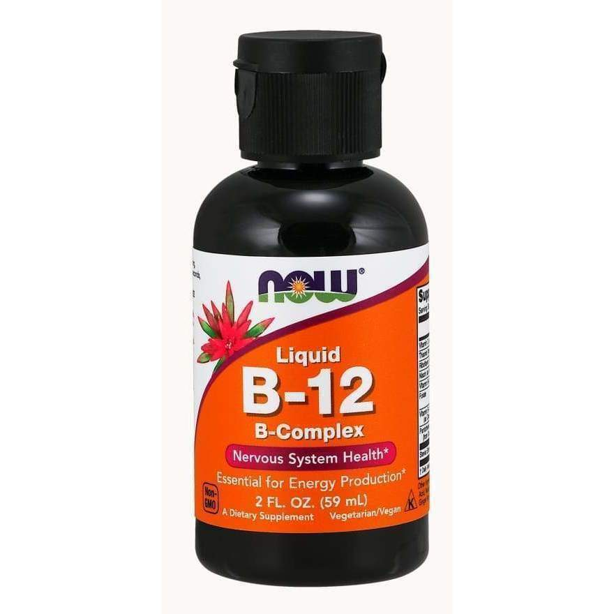 B-12,LIQUID B-COMPLEX 8 OZ - Earthly Nutrition