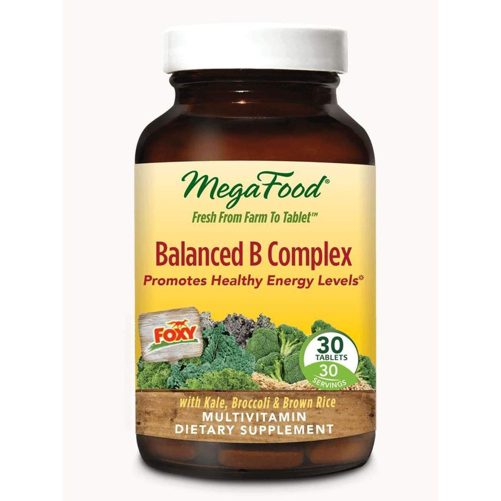 Balanced B Complex 30ct - Earthly Nutrition