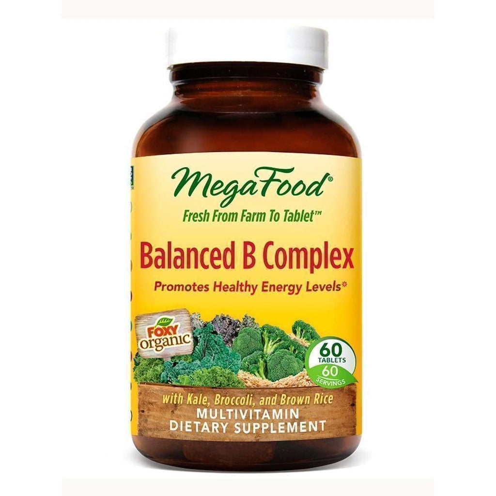 Balanced B Complex 60ct - Earthly Nutrition