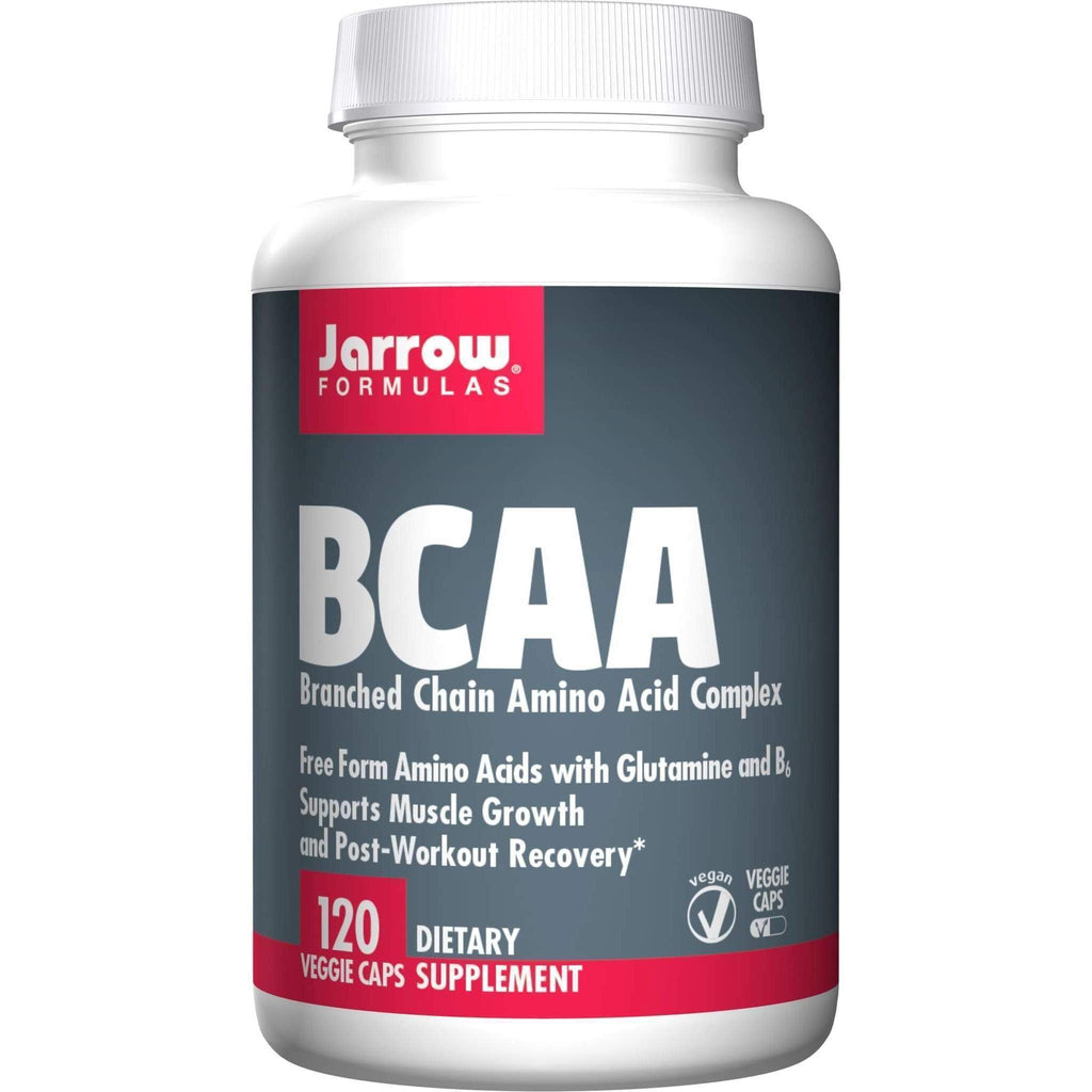 BCAAs with Glutamine 120cap 1100mg - Jarrow - Earthly Nutrition