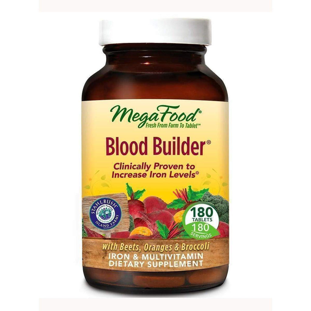 Blood Builder 180ct - Earthly Nutrition