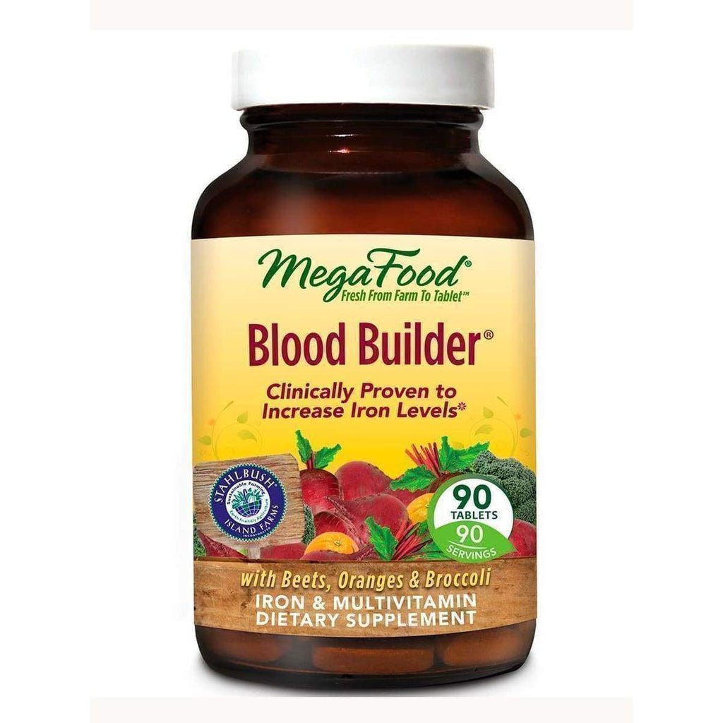 Blood Builder 90 tab - Earthly Nutrition