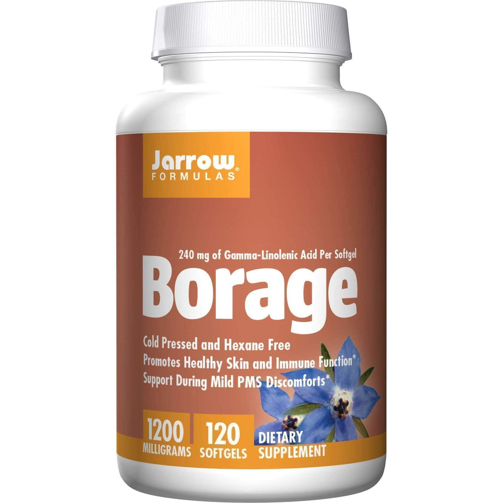 Borage GLA-240 120softgel 240mg - Jarrow - Earthly Nutrition