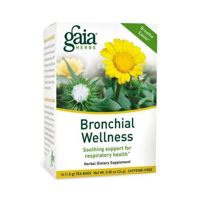 Bronchial Wellness Tea - Gaia Herbs - Earthly Nutrition
