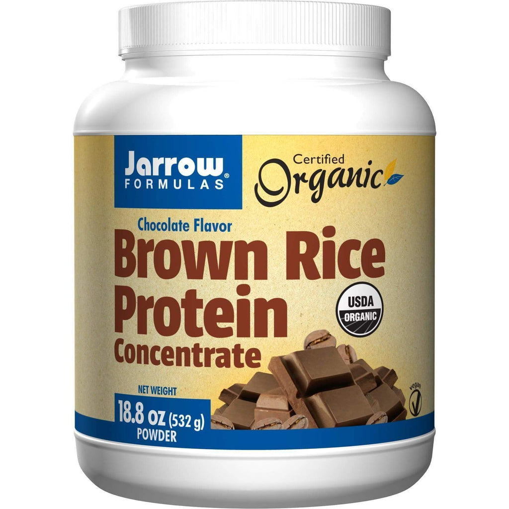 Brown Rice Protein Chocolate 1.1 lb - Jarrow - Earthly Nutrition