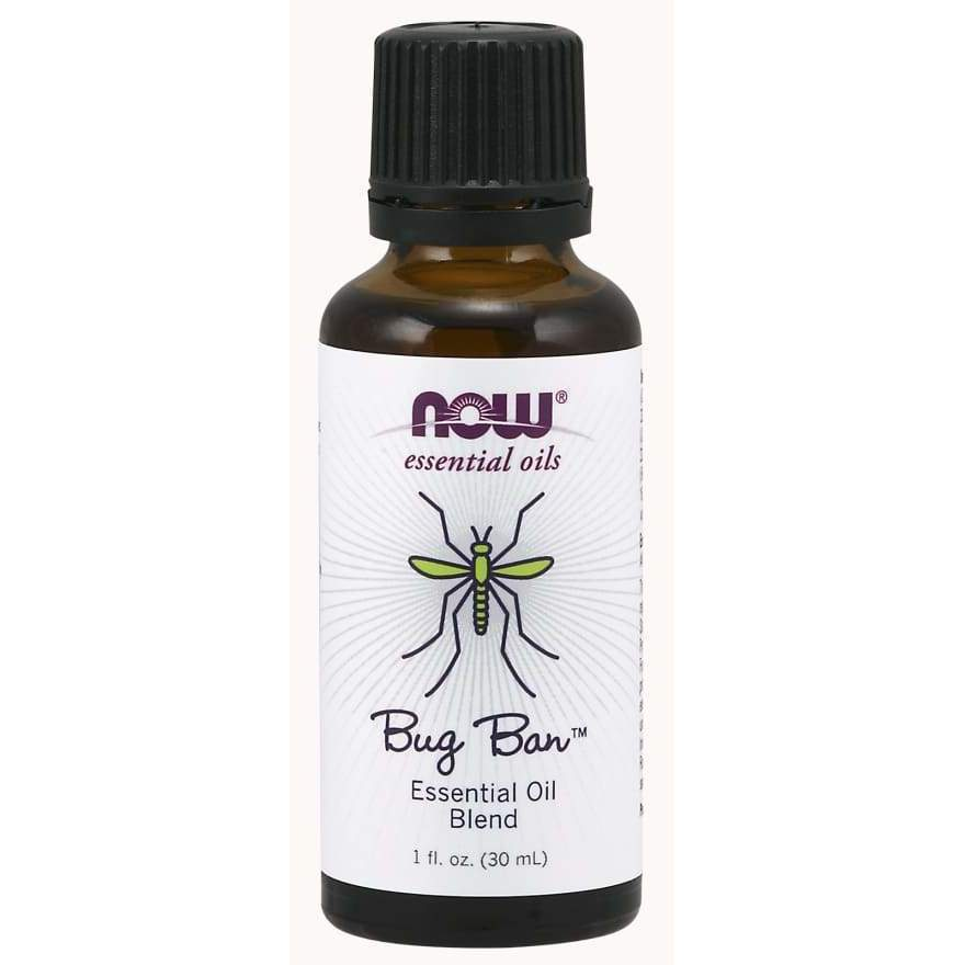 Bug Ban Essential Oil 1 oz - Now Foods - Earthly Nutrition