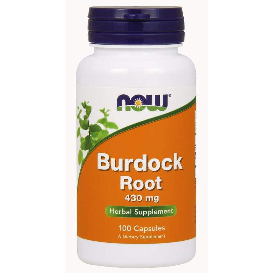 BURDOCK ROOT 430mg 100 CAPS - Earthly Nutrition