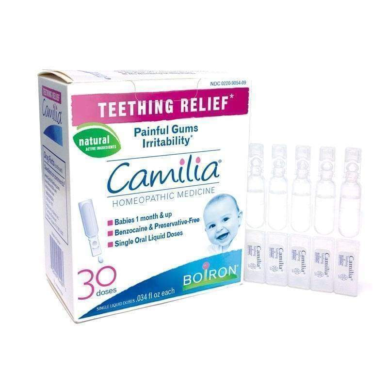 Camilia Teething Relief 30 doses -Boiron - Earthly Nutrition