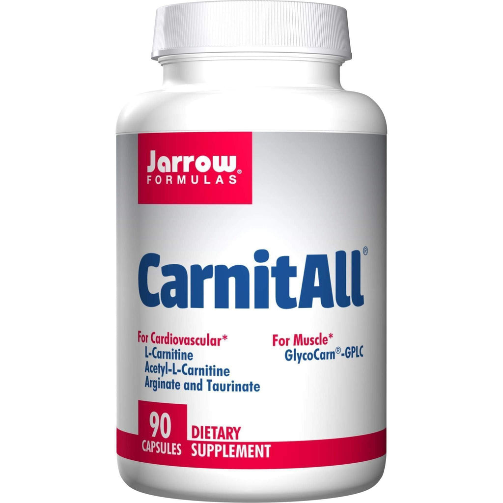 CarnitAll 600+ 90 cap - Jarrow - Earthly Nutrition