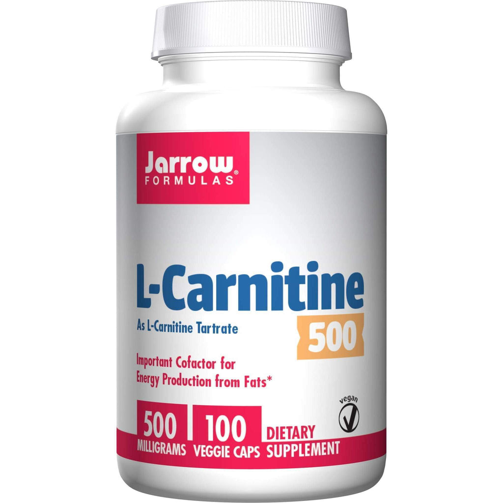Carnitine 500mg HSC 100ct - Jarrow - Earthly Nutrition