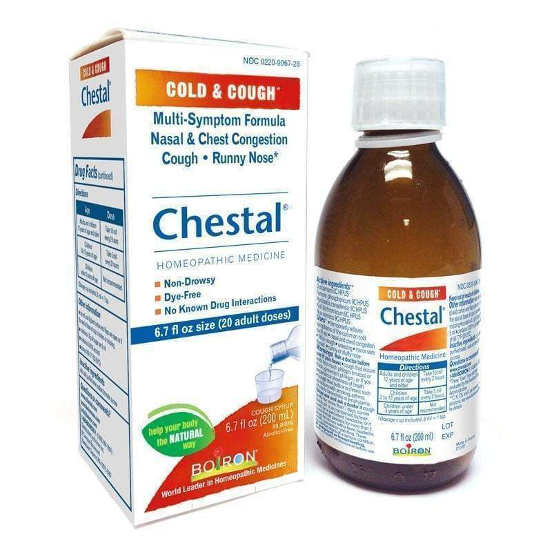 Chestal Adult Cold & Cough 6.7 oz - Boiron - Earthly Nutrition