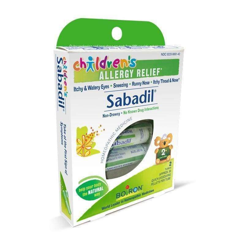 Childrens Sabadil - Boiron - Earthly Nutrition
