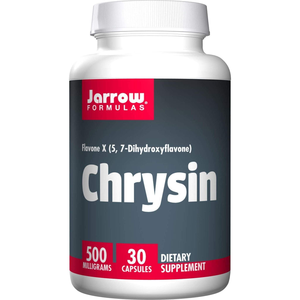 Chrysin 500mg 30caps - Jarrow - Earthly Nutrition