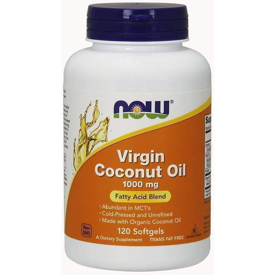 COCONUT OIL 1000MG 120 SGELS - Earthly Nutrition