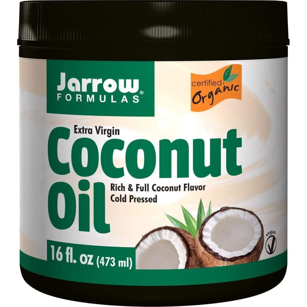 Coconut Oil Virgin 16 oz - Jarrow - Earthly Nutrition