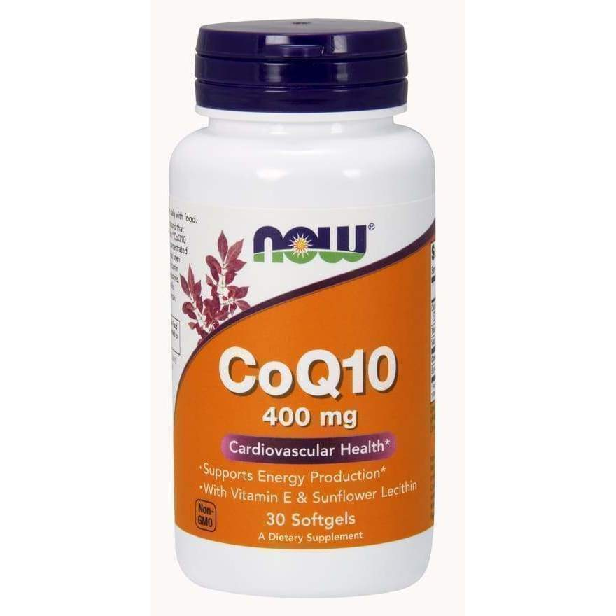 CoQ10 400mg 60 SGELS - Earthly Nutrition