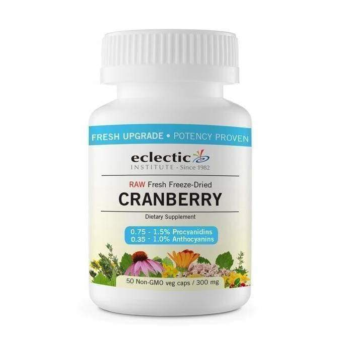 Cranberry 300 mg, 50 veg capsules - Earthly Nutrition