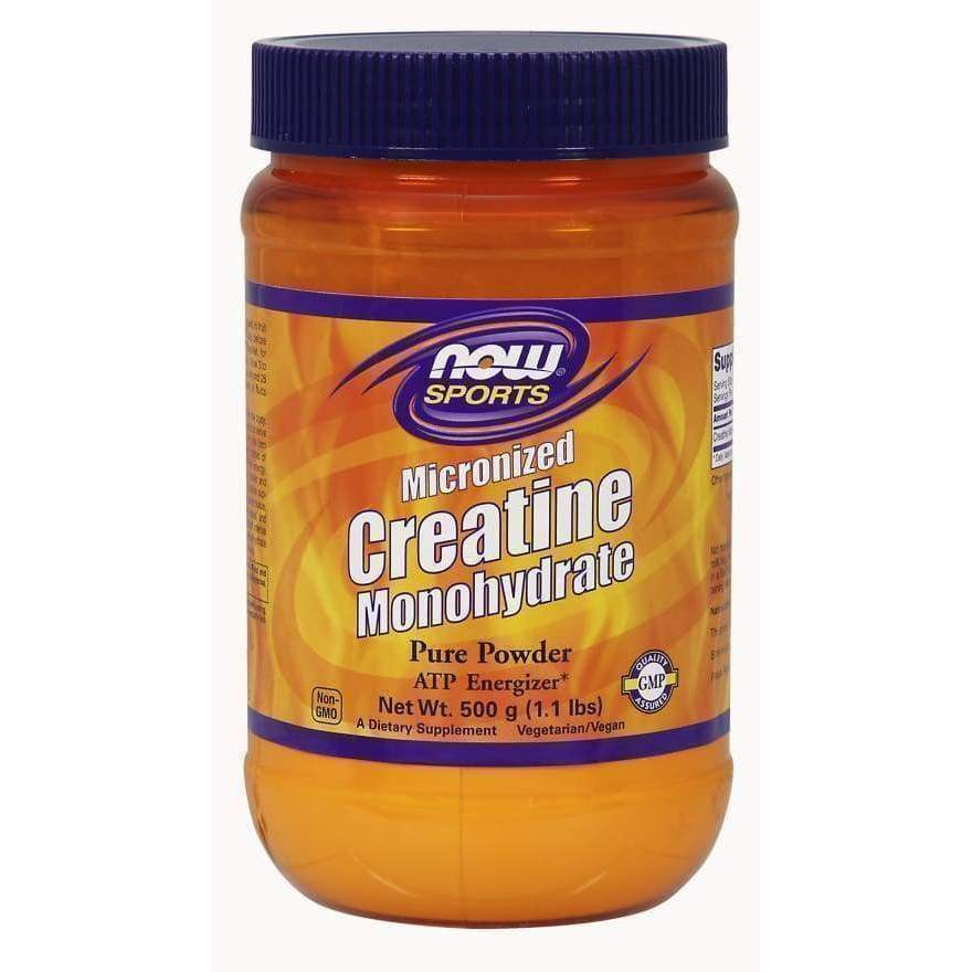 CREATINE MONOHYDRATE MICRONIZED 500 G - Earthly Nutrition