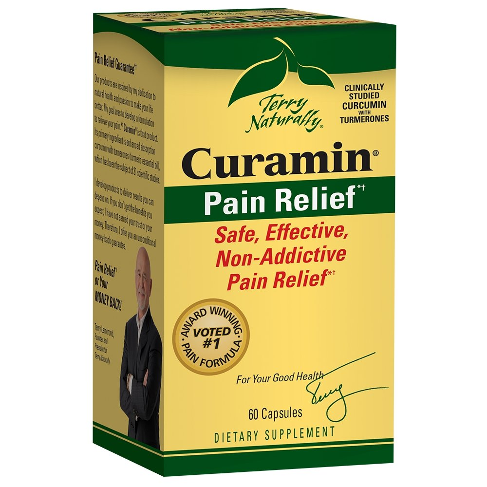 Curamin, 60 capsules - Earthly Nutrition